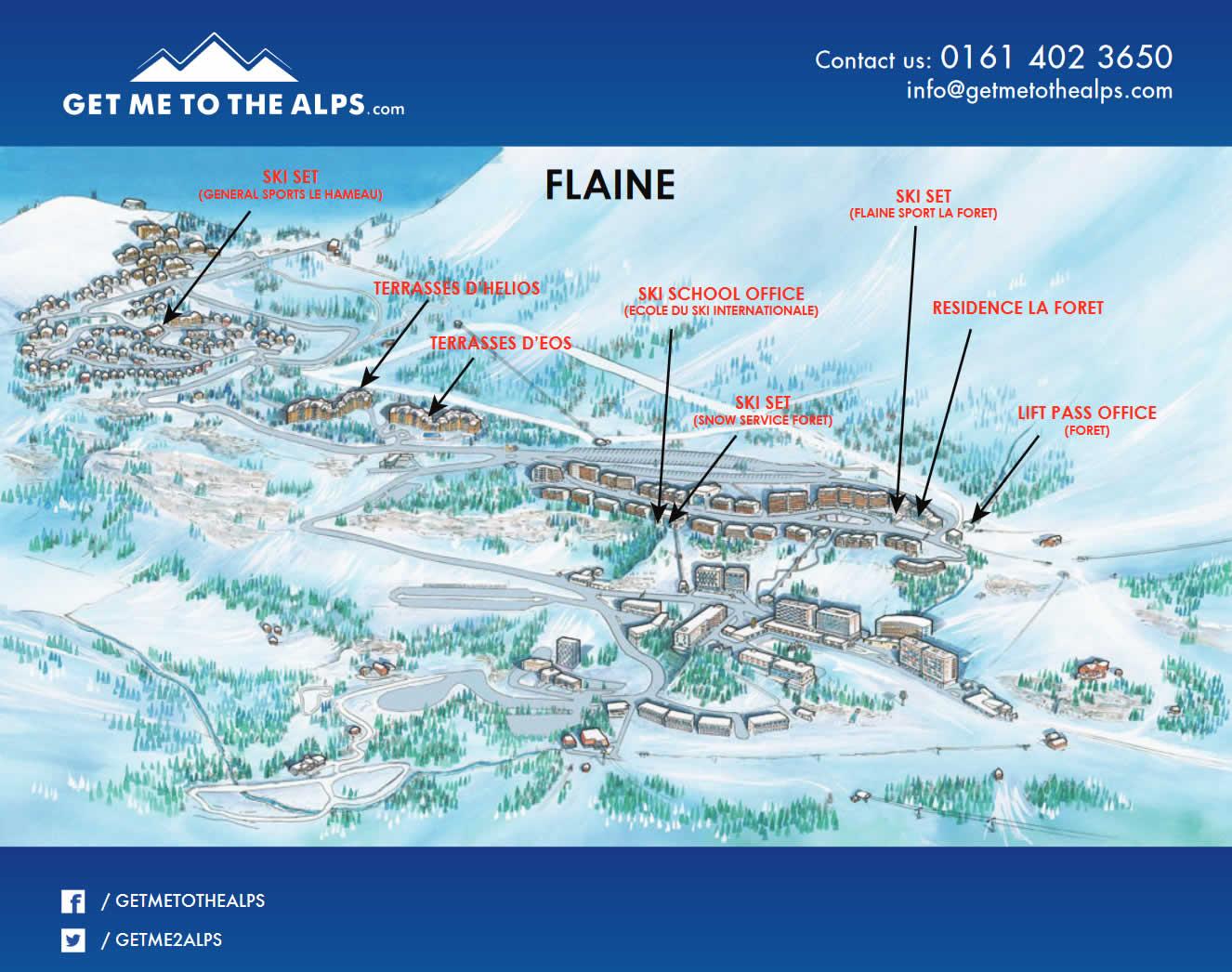flaine map