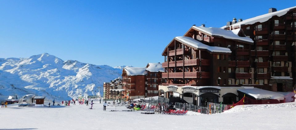 Image of outside of Village Montana Val Thorens