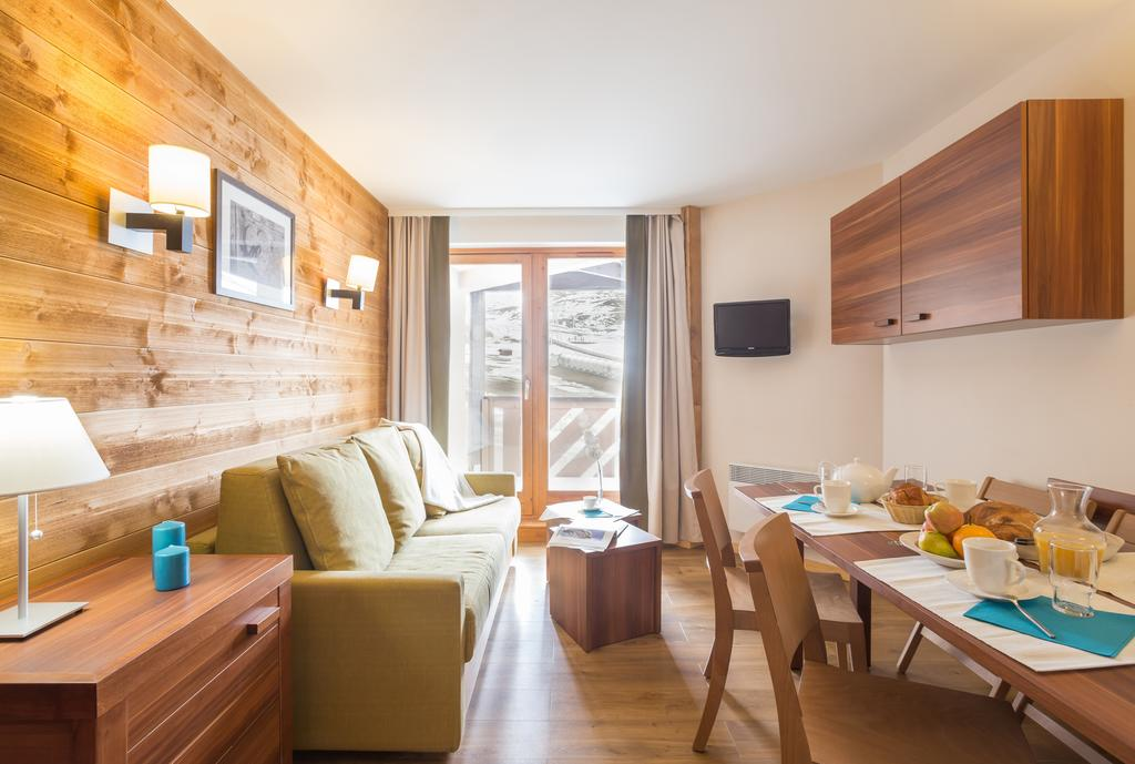 Picture of an example living area at Le Machu Pichu Val Thorens