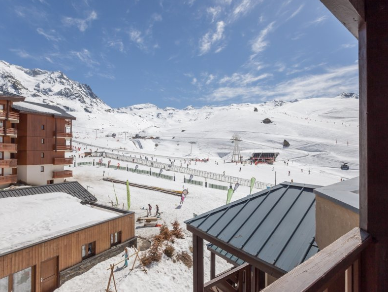 Picture of the view at Le Machu Pichu Val Thorens