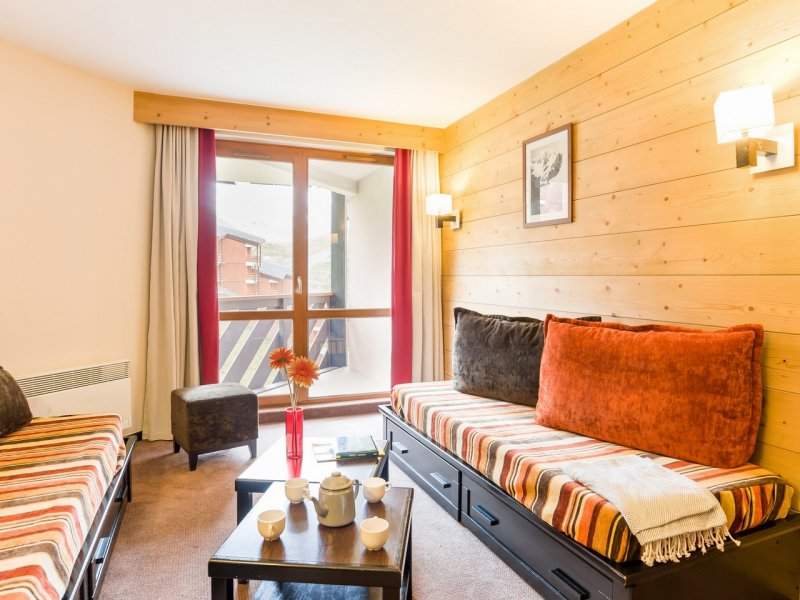 Picture of an example Living Area in Residence Le Tikal Val Thorens