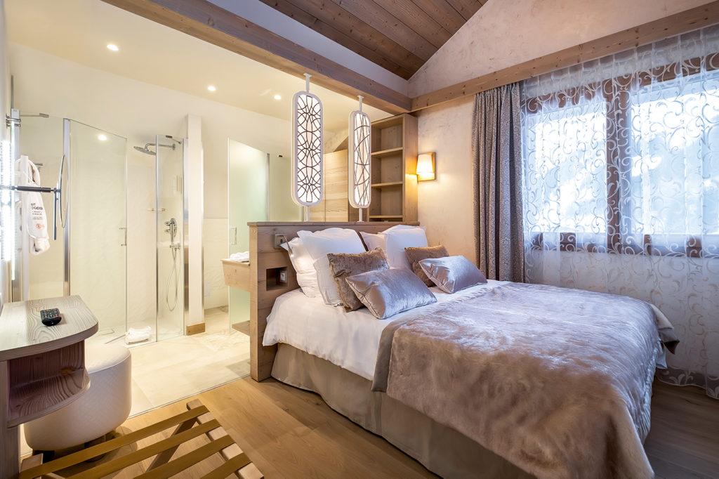 Picture of an ensuite bedroom in L'Hevana Meribel