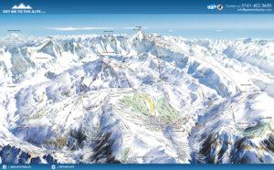 Picture of alpe d'huez piste map