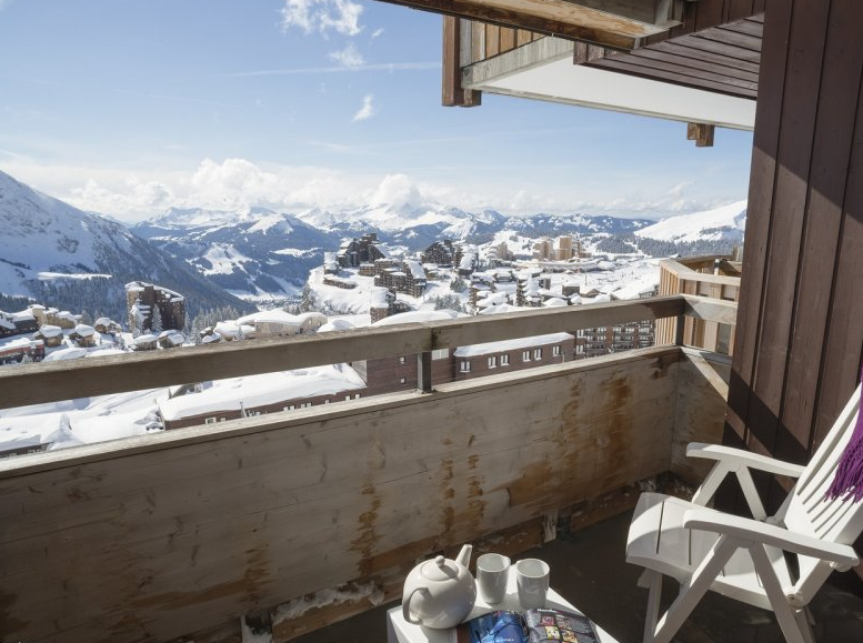 Picture of Antares Avoriaz balcony