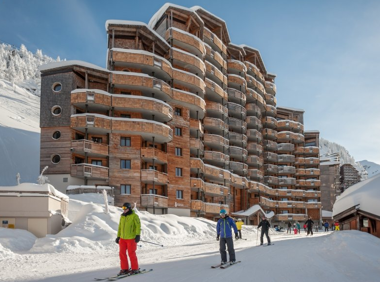 Another picture of the Atria Crozats Avoriaz exterior