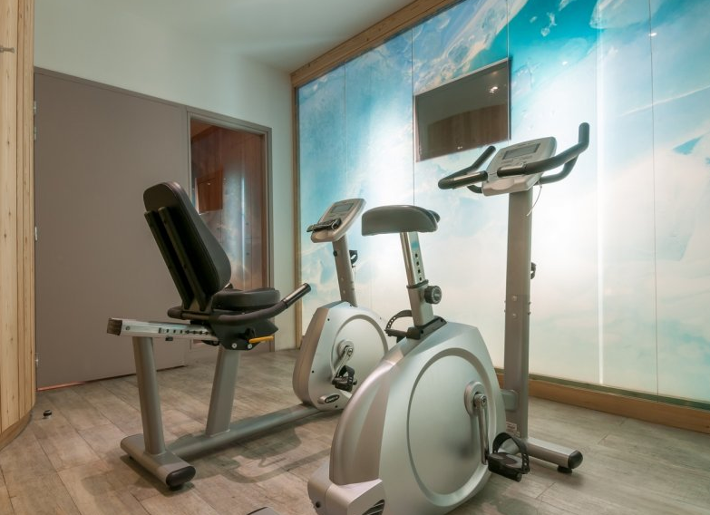 Picture of the fitness centre in Atria Crozats Avoriaz