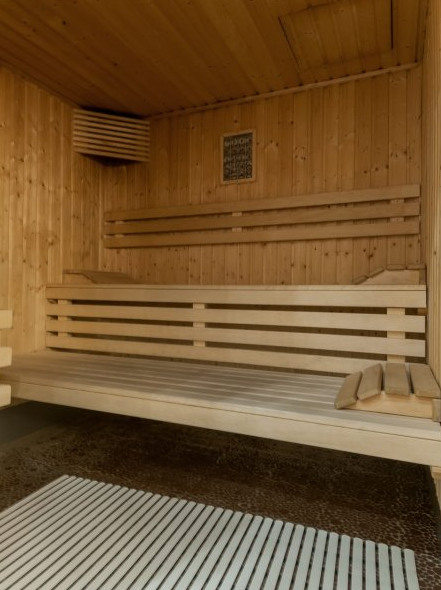 Picture of the sauna in the residence