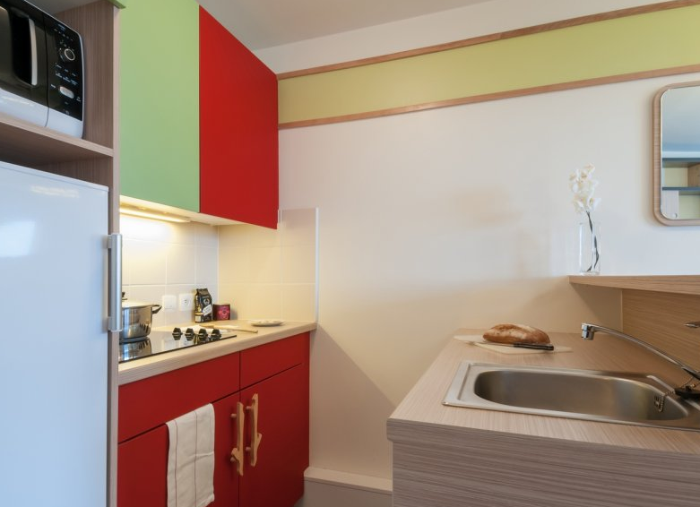 Image of the kitchenette facilities at Residence Electra Avoriaz