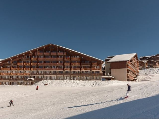 Image of the outside of Residence Le Mont Soleil in La Plagne Soleil