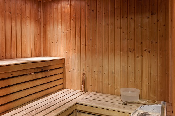 picture of the sauna