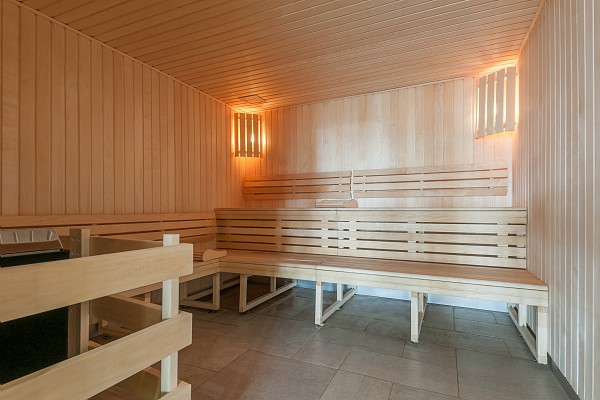 Image of the sauna within Les Terrasses d'Helios