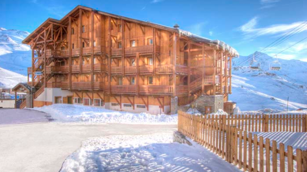 picture of the val chaviere val thorens exterior