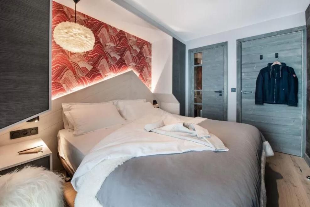 Chalet Izia double bed