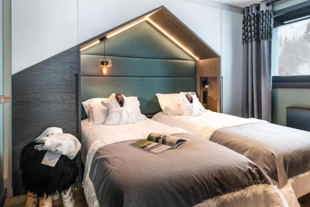 Chalet Izia Val d'Isere single beds