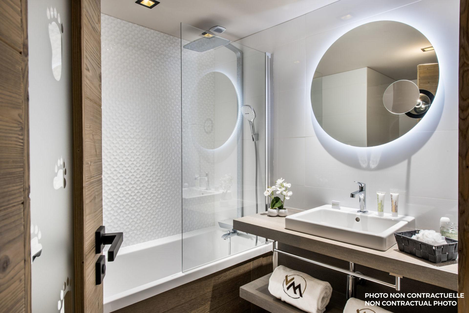 Chalet Izia bathroom