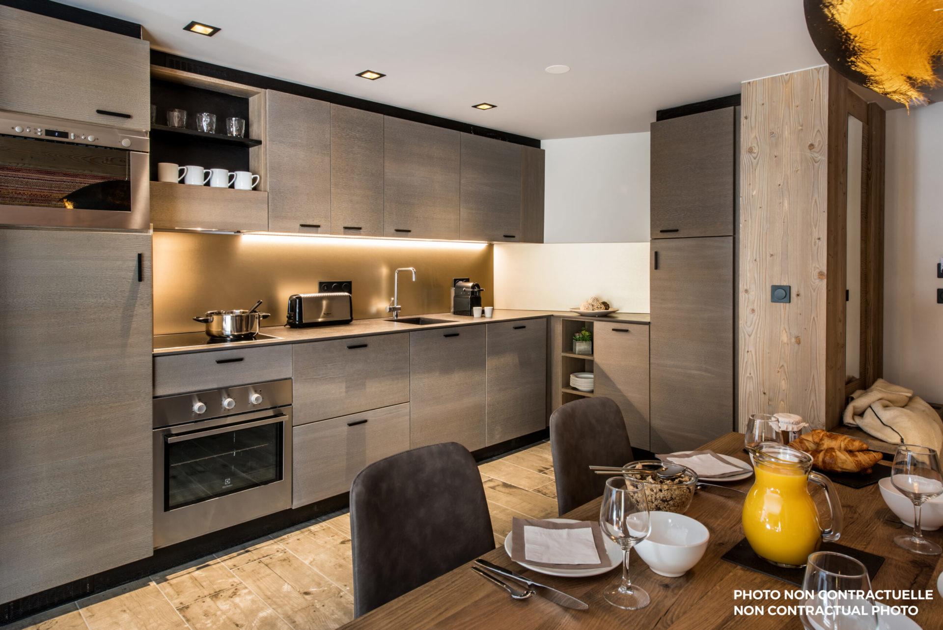 Chalet Izia kitchen