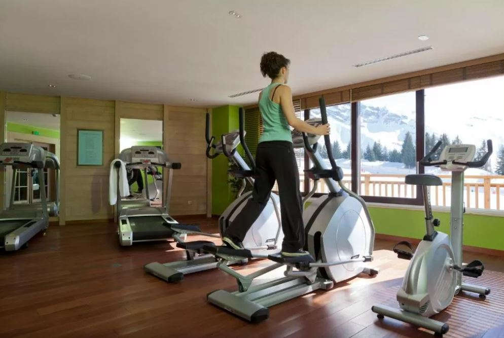 Picture of the gym in the residence