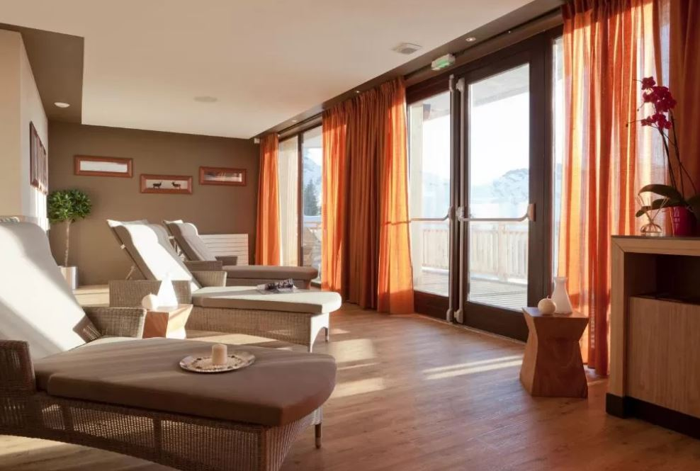 Picture of the relaxation area in the residence L'Amara Avoriaz
