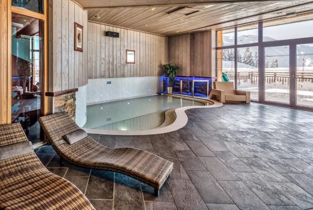 Picture of the residence wellness area in L'Amara Avoriaz
