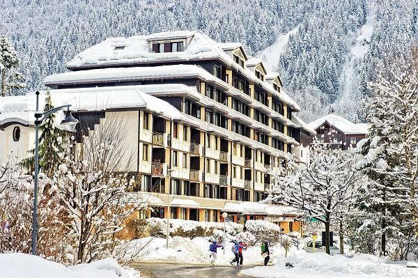 An image of the Chamois Blanc Chamonix residence