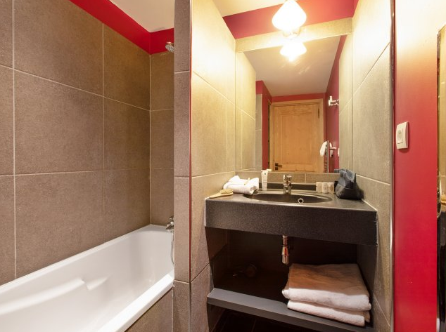 Picture of bathroom at Residence Les Crets Meribel