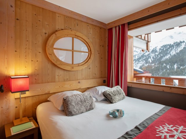 Picture of Bedroom at Residence Les Crets Meribel