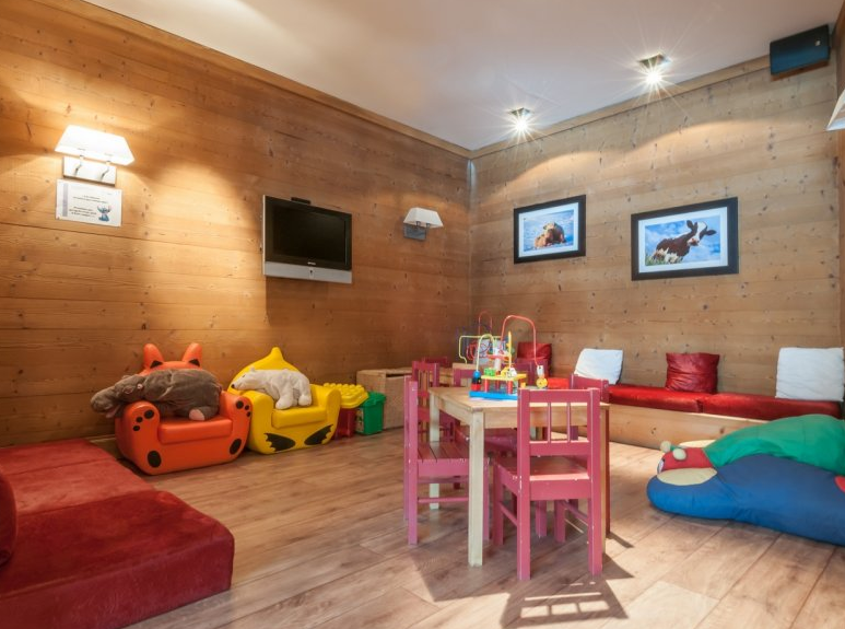 Picture of the kids area at Residence Les Crets Meribel