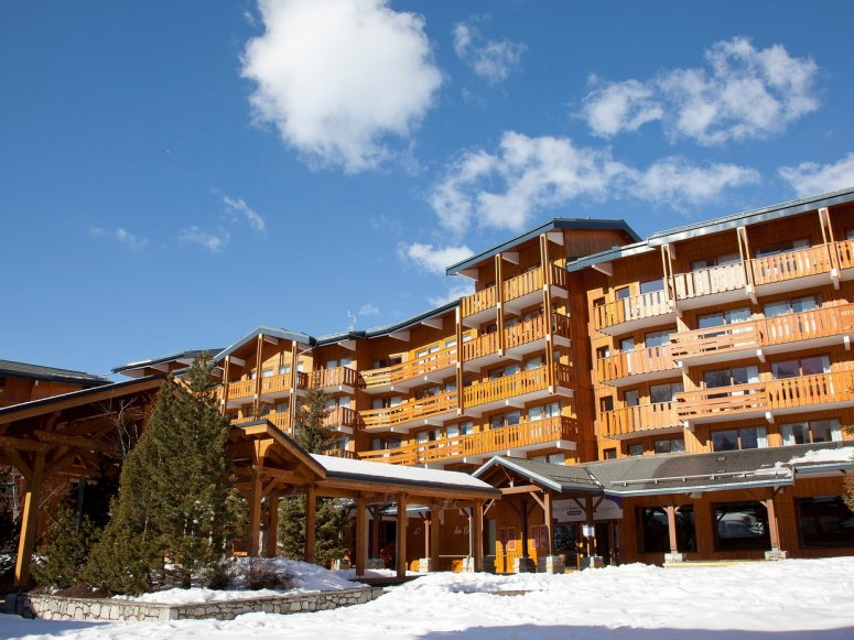 Picture of the Residence Les Crets Meribel Exterior