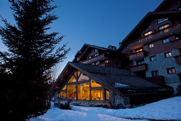Picture of the exterior of Les Fermes de Meribel