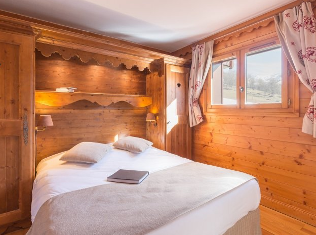 Picture of an example bedroom at Les Fermes de Meribel
