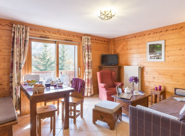Picture of a typical living room in Les Fermes de Meribel