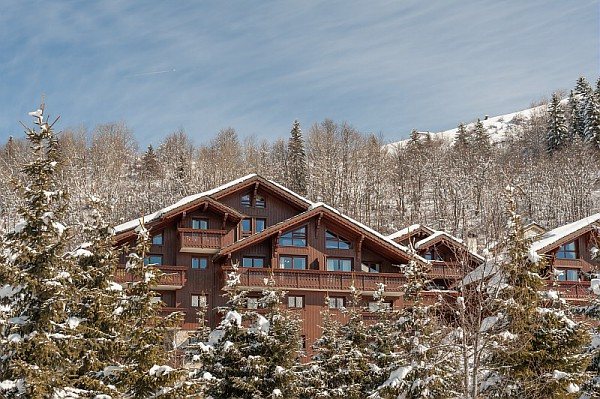 Picture of the Les Fermes de Meribel Exterior