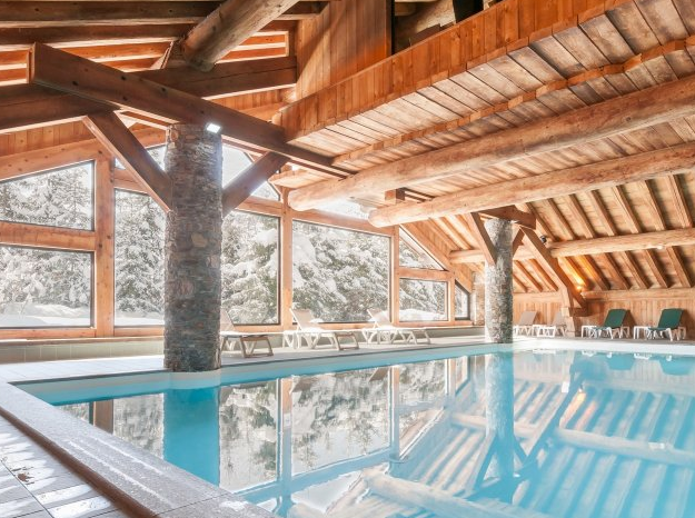 Picture of swimming pool at Les Fermes de Meribel