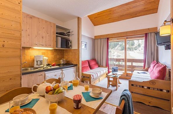 Picture of the living area in Les Sentiers du Tueda Meribel