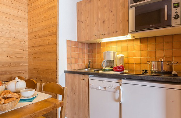 Picture of an example kitchen in the reisdence