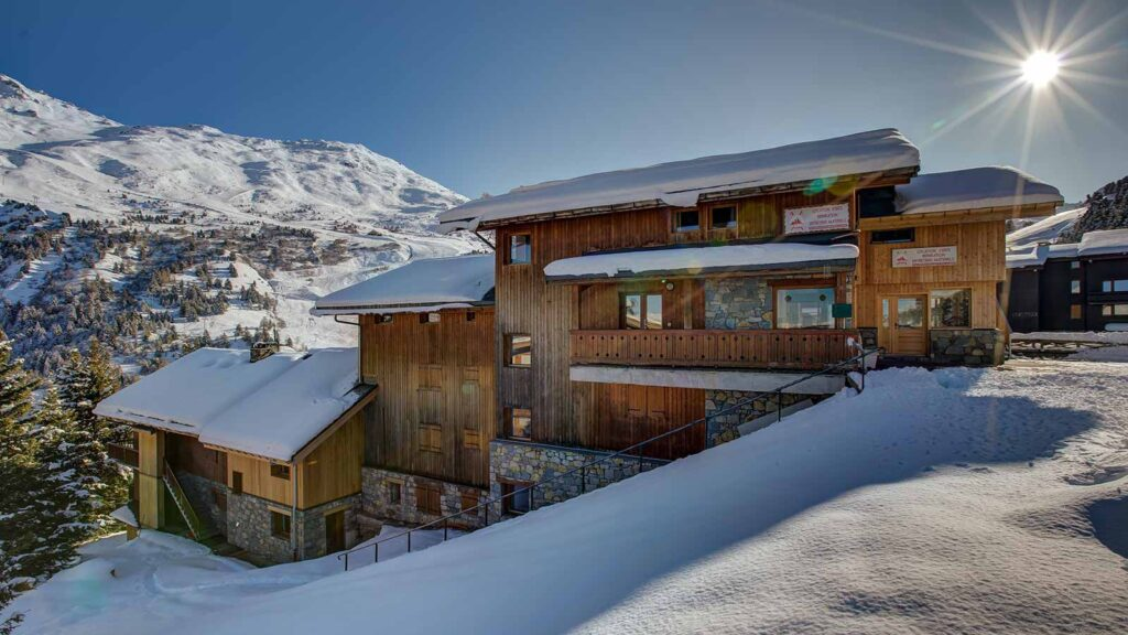 Meribel ski chalets - image of one of the chalets