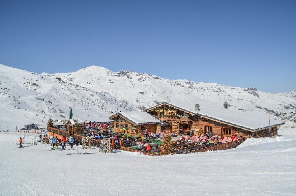 pictureof chalet de caron in val thorens