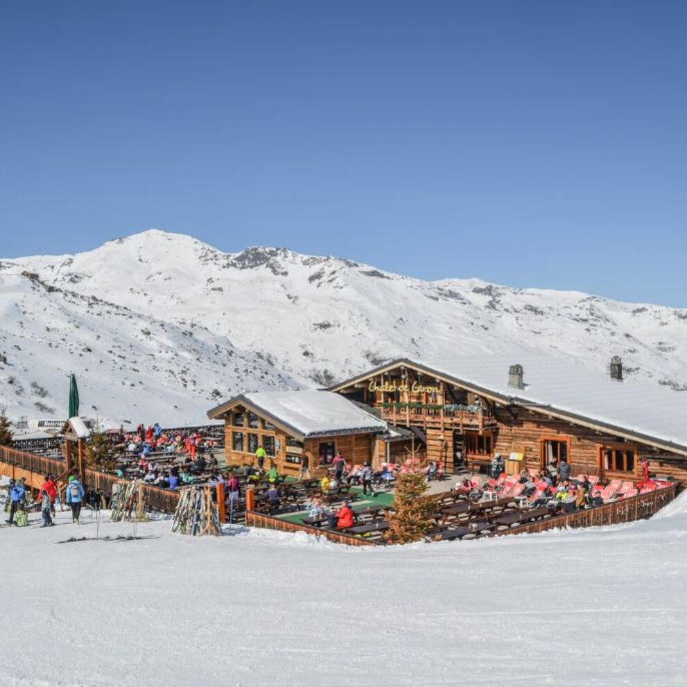 restaurant in val thorens