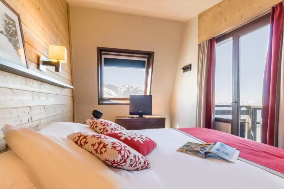 Picture of a bedroom in Saskia Falaise Avoriaz