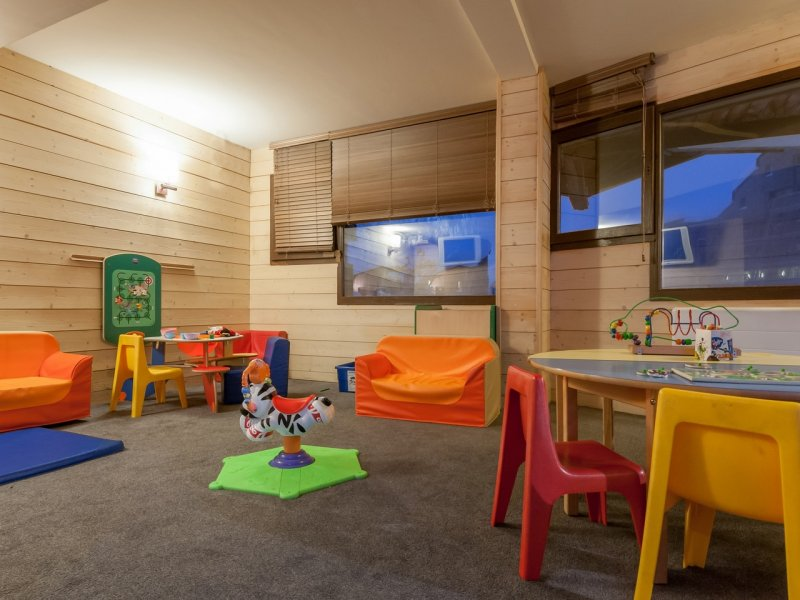 Picture of the kids room in the residence