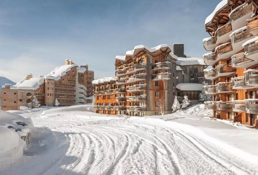 Picture of the Saskia Falaise Avoriaz exterior