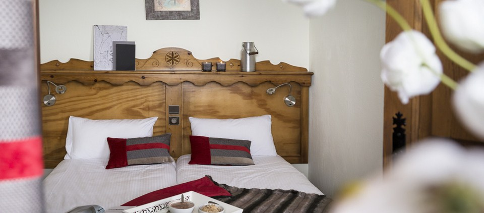 Picture of double bedroom at Village montana Val Thorens