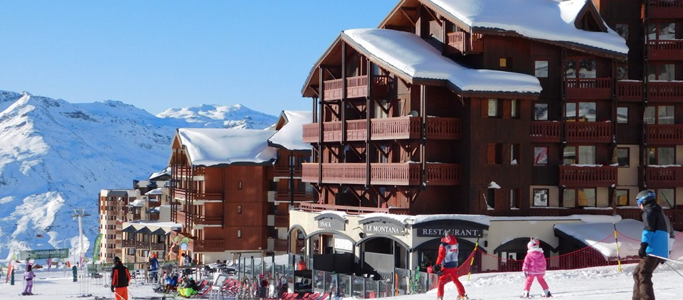 Picture of village montana Val Thorens ski in ski out