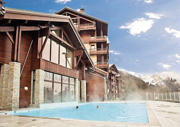 Picture of residences terrasses d'eos flaine swimming pool