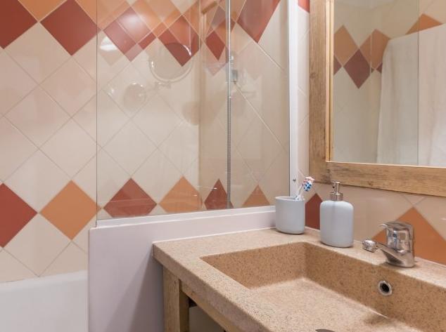 Bathroom at Les Ravines Meribel