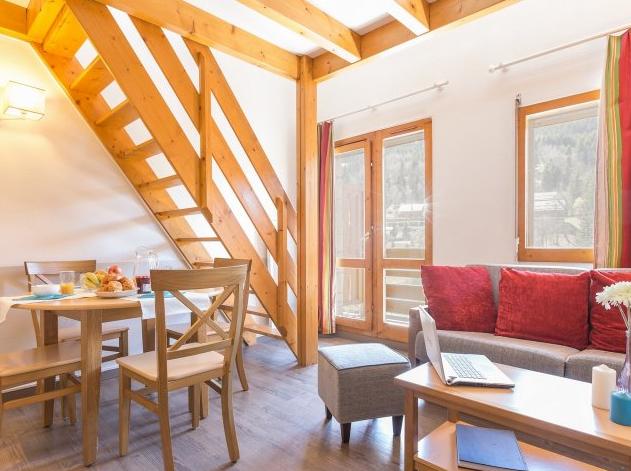 Living area at Les Ravines Meribel