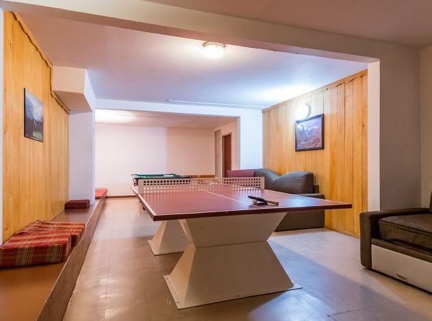 Games room at Les Ravines Meribel