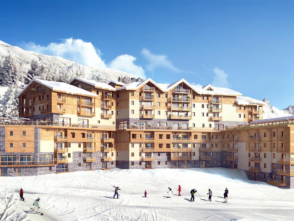 Ski in ski out at Coeur des Loges Les Menuires