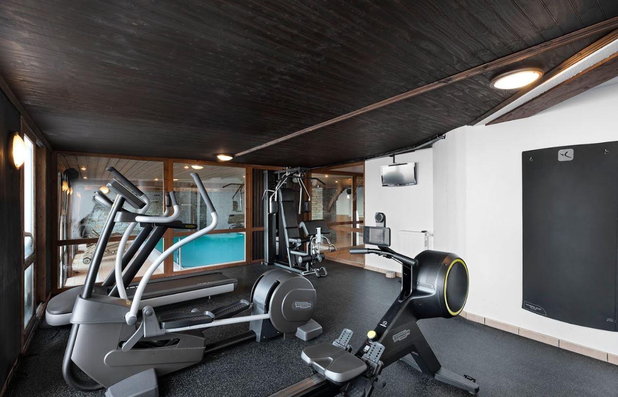 The gym at Les Balcons de Belle PLagne spa