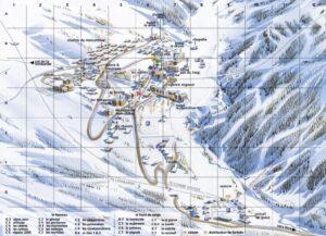 Isola 2000 village map